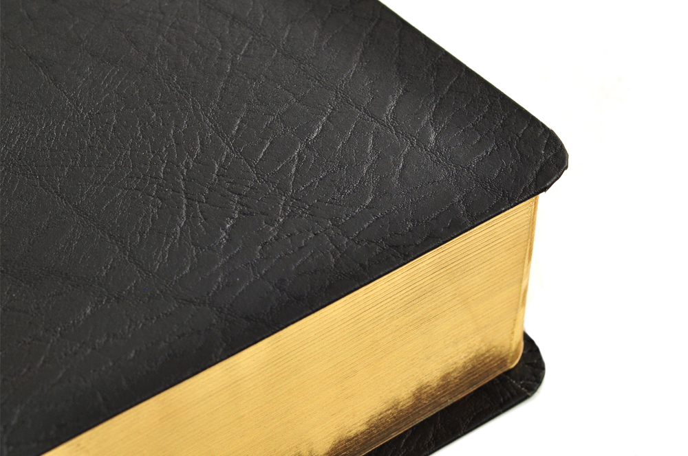 About Bible bindings